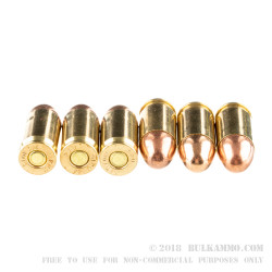 1000 Rounds of .380 ACP Ammo by Prvi Partizan - 94gr FMJ