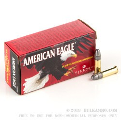 50 Rounds of .22 LR Ammo by Federal - 40gr LRN