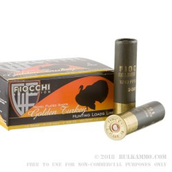 10 Rounds of 12ga Ammo by Fiocchi - 2 3/8 ounce  #5 shot