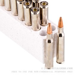 20 Rounds of .270 Win Ammo by Winchester Razor Boar - 130gr HP