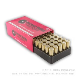 50 Rounds of .44 Mag Ammo by BVAC New - 240gr SJHP