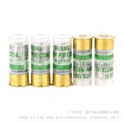 10 Rounds of 12ga Ammo by Sellier & Bellot - 1 ounce Slug