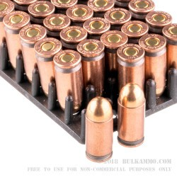 50 Rounds of 9x18mm Makarov Ammo by Wolf - 92gr FMJ