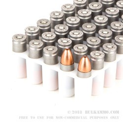 1000 Rounds of 9mm Ammo by CCI - 124gr TMJ