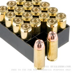 20 Rounds of .50 AE Ammo by Hornady - 300 gr JHP