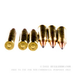 50 Rounds of .223 Ammo by Hornady - 55gr SP