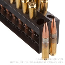 20 Rounds of .300 AAC Blackout Ammo by Barnes Range AR - 90gr OTM