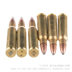 20 Rounds of 30-06 Springfield Ammo by Remington - 165gr PSP