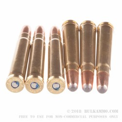 20 Rounds of .375 H&H Mag Ammo by Federal - 300 gr SP
