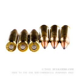 20 Rounds of .223 Ammo by Fiocchi - 55gr PSP