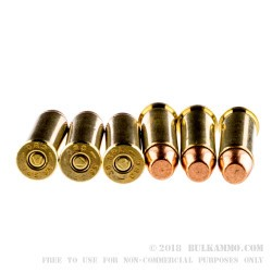 50 Rounds of .38 Spl Ammo by Magtech - 130gr FMJ
