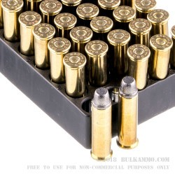 1000 Rounds of .357 Mag Ammo by Magtech - 158gr LSWC