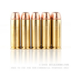 20 Rounds of .500 S&W Mag Ammo by Hornady - 350gr JHP