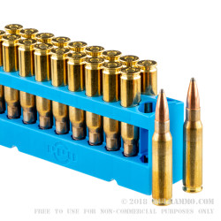 20 Rounds of .308 Win Ammo by Prvi Partizan - 165gr PSP