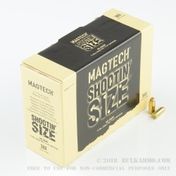 900 Rounds of .40 S&W Ammo by Magtech - 180gr FMJFN Shootin' Size