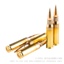 20 Rounds of 7.62x51mm Ammo by PMC X-Tac - 147gr FMJBT
