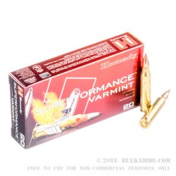 200 Rounds of .223 Ammo by Hornady Superformance - 35 gr NTX