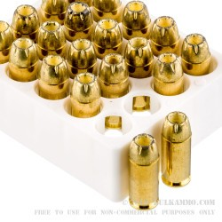 1000 Rounds of .40 S&W Ammo by Magtech Guardian Gold - 180gr JHP