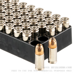 500 Rounds of 9mm +P Ammo by Remington Golden Saber Bonded - 124gr JHP