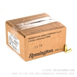 500 Rounds of .45 ACP Ammo by Remington - 230gr MC