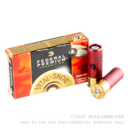 250 Rounds of 12ga Ammo by Federal - 1 ounce Rifled Slug