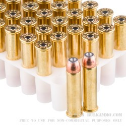 50 Rounds of .357 Mag Ammo by Blazer Brass - 158gr JHP