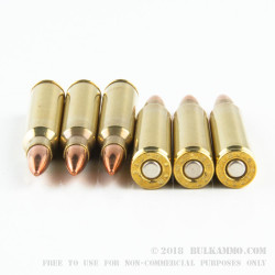 50 Rounds of .223 Ammo by Black Hills Ammunition - Remanufactured - 55gr FMJ
