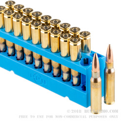 20 Rounds of .308 Win Ammo by Prvi Partizan - 168gr HPBT