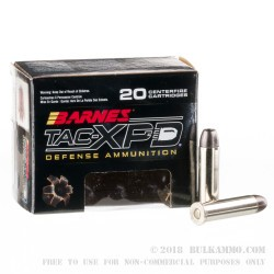 20 Rounds of .357 Mag Ammo by Barnes TAC-XPD - 125gr HP