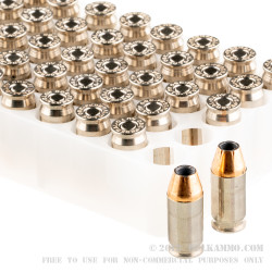1000 Rounds of .380 ACP Ammo by Federal Hydra-Shok - 90gr JHP