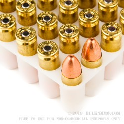 50 Rounds of 9mm Ammo by Speer - 115gr TMJ