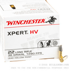 5000 Rounds of .22 LR Ammo by Winchester - 36gr LHP