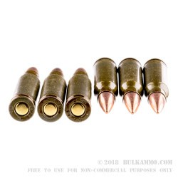 500  Rounds of .308 Win Ammo by Brown Bear - 145gr FMJ