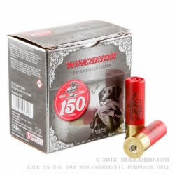 "25 Rounds of 12ga Ammo by Winchester 150 yr Commemorative- 3"" 1 1/4 ounce #2 Shot"