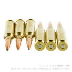 20 Rounds of 6.5 mm Creedmoor Ammo by Federal American Eagle - 140gr OTM