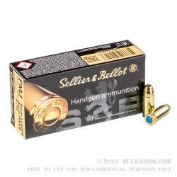 1000 Rounds of 9mm Subsonic Ammo by Sellier & Bellot - 140gr FMJ