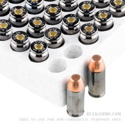 50 Rounds of .40 S&W Ammo by Browning BTP - 180gr FMJ