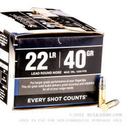 2750 Rounds of .22 LR by Federal - 40 gr  LRN