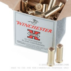 50 Rounds of .38 Spl Ammo by Winchester -  Blanks