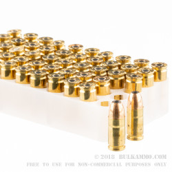 50 Rounds of 9mm Ammo by Federal - 115gr JHP