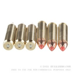 20 Rounds of .450 Bushmaster Ammo by Hornady Custom - 250gr FTX