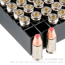 25 Rounds of 9mm Ammo by Hornady Critical Duty - 135gr JHP