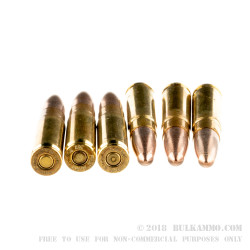 20 Rounds of .300 AAC Blackout Ammo by SinterFire - 110gr Lead-Free Frangible
