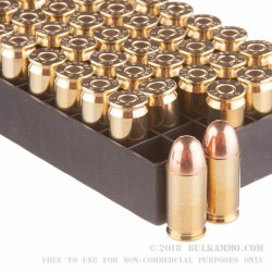 50 Rounds of .45 ACP Ammo by PMC - 230gr FMJ