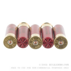 "5 Rounds of 12ga 3"" Ammo by Federal -  00 Buck"