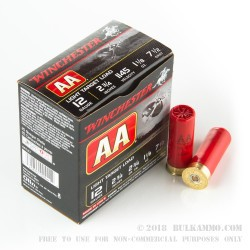 25 Rounds of 12ga Ammo by Winchester -  #7 1/2 shot