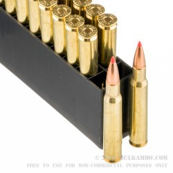20 Rounds of 30-06 Springfield Ammo by Hornady - 165gr GMX