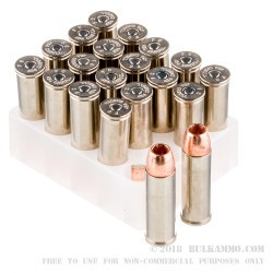 20 Rounds of .454 Casull Ammo by Federal Vital-Shok - 250gr SCHP Barnes Expander