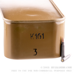 500 Rounds of .223 Ammo in Spam Can by Wolf Military Classic - 55gr FMJ