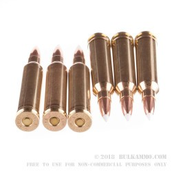 20 Rounds of 7mm Rem Mag Ammo by Nosler Ammunition - 140gr Nosler Accubond